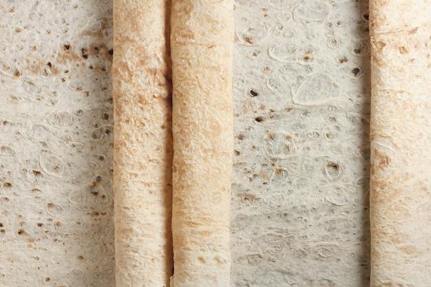 Flat bread rolls