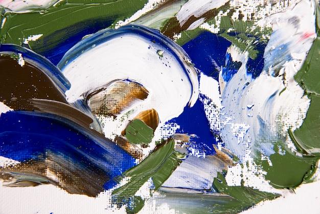 Sfondo di vernice acrilica piatta