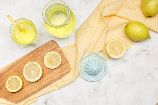 Disposizione piana dei limoni
