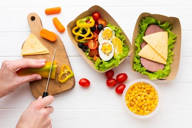 Ассорти порционных обедов