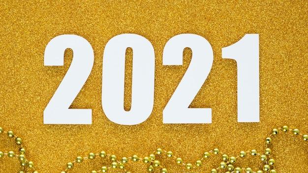 Lay piatto del bellissimo concetto di nuovo anno