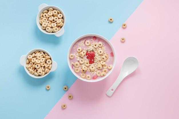 Плоская чаша с зернами