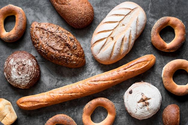 Ассорти хлеба плоской формы