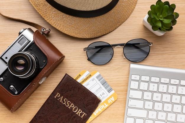 Плоская камера и расположение паспорта