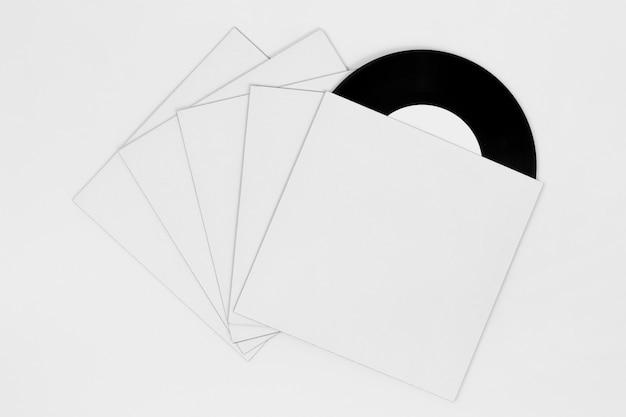 Плоский состав виниловой упаковки