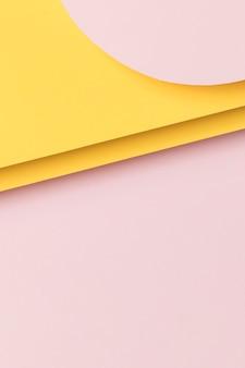 Плоская планировка в стиле геометрической формы