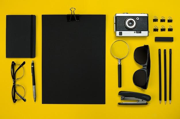 메모장, 빈티지 카메라, 펜, 개발, 안경 및