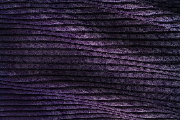 Flat lay of fabric material