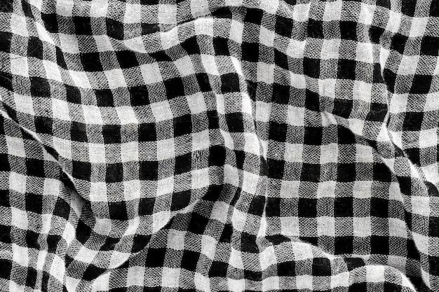 Flat lay of fabric