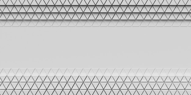 フラットレイ幾何学的3d形状コピースペース背景