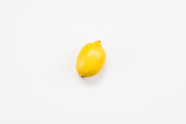 Flat lay of healthy delicious lemon
