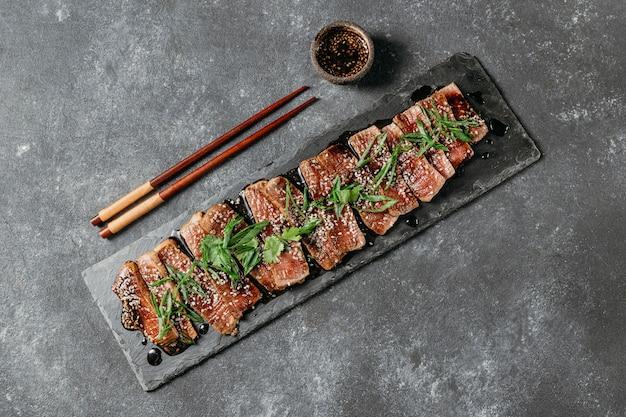 フラットレイ日本食構成
