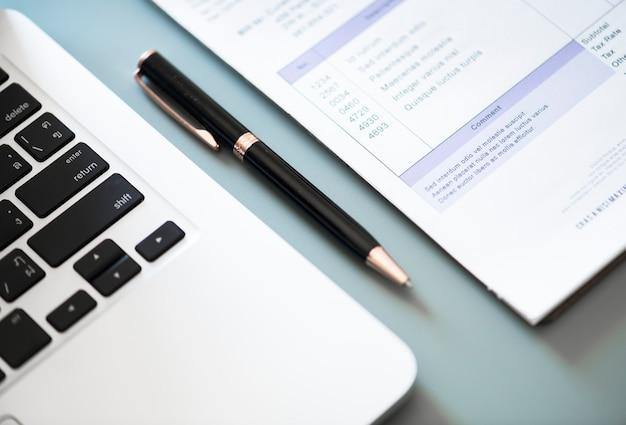 Плоская планировка бизнес-концепции