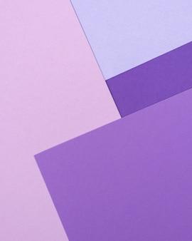 단색 패턴의 플랫 레이