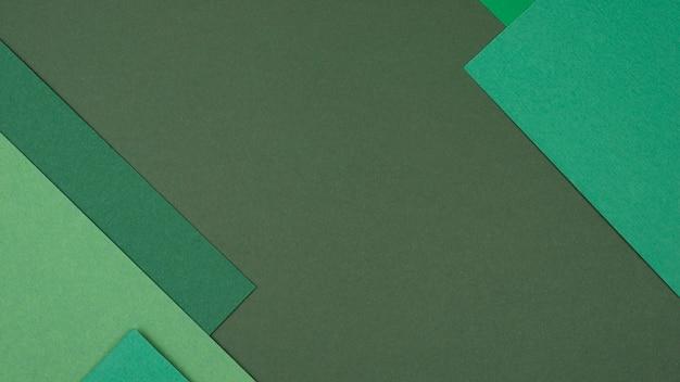 単色パターンのフラットレイ