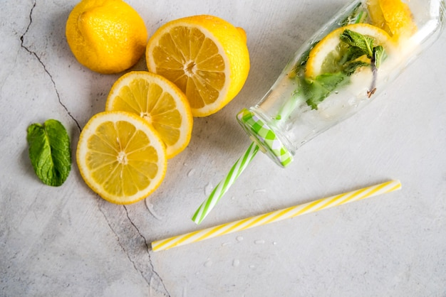Плоская планировка летнего лимонада