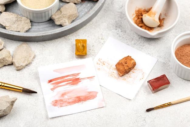 Pigmento colorante organico piatto