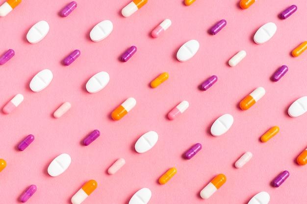 Расположение таблеток