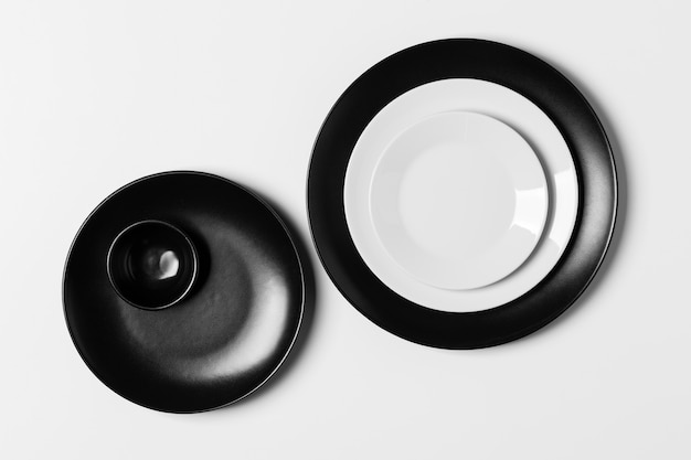 Ассортимент плоских круглых пластин