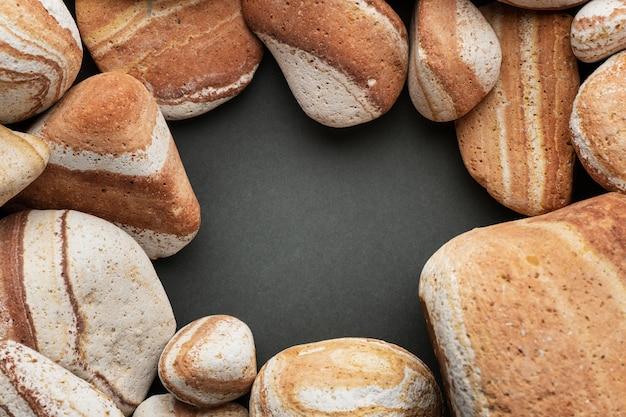 Рамка для коллекции плоского камня