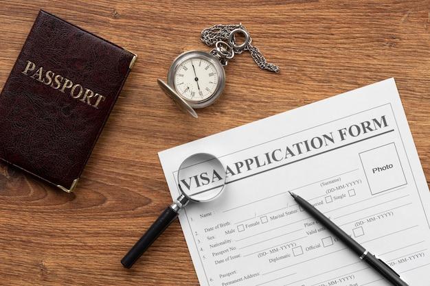 Ассортимент заявлений на получение визы без посредников