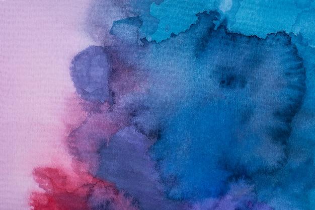 Плоские акварельные краски на бумаге