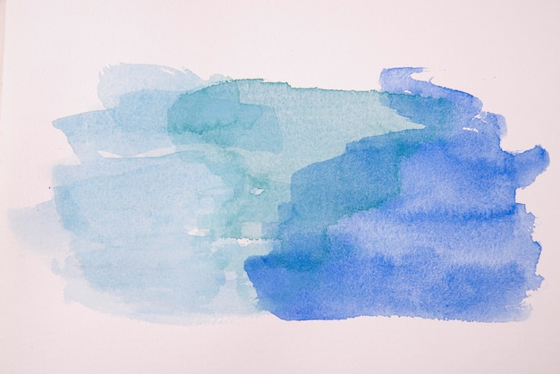 평평한 평지 수채화 물감 벽지