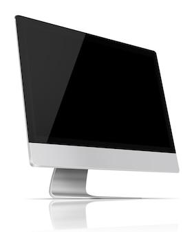 평면 스크린 컴퓨터 모니터.