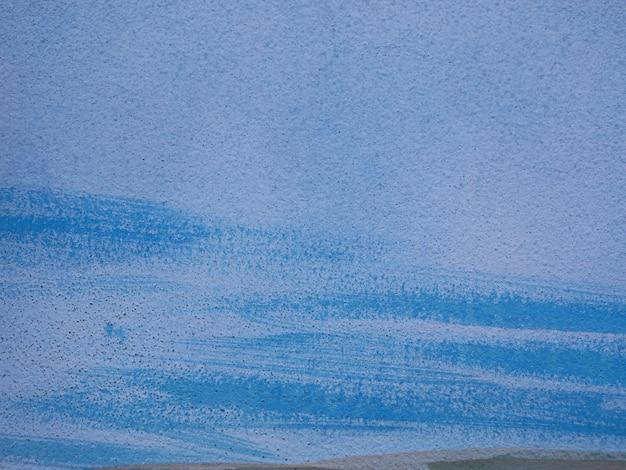 Flat texture of blue paint
