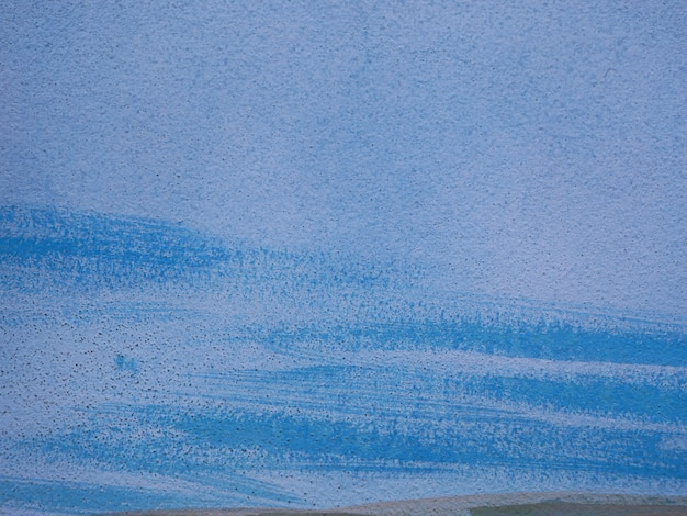 Плоская текстура синей краски