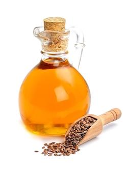 亜麻仁と油の分離
