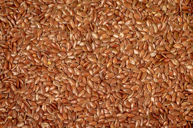 Flax seeds. natural grain with antioxidants.