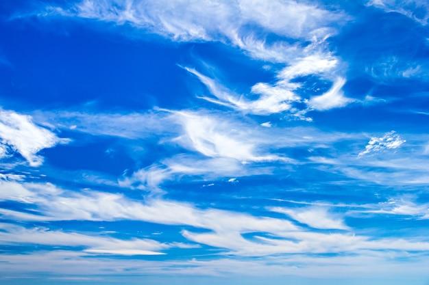 青い空に f fえる雲