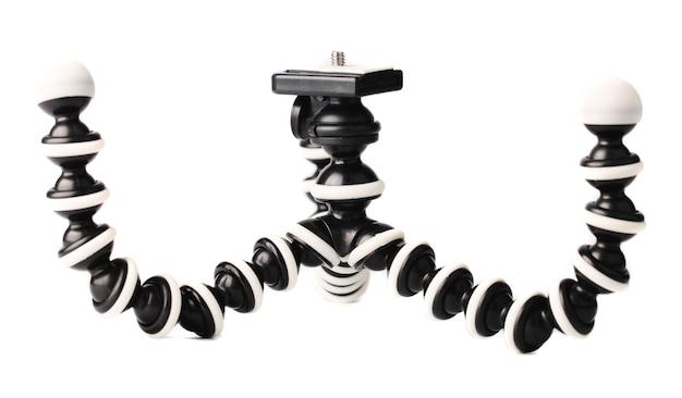 Flexible folding octopus tripod for mobile smartphones, tripod for dslr cameras