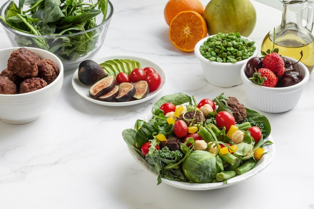 準菜食主義の食事療法