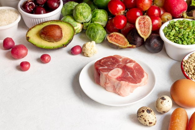 Flexitarian 다이어트 식품 구색