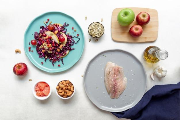 準菜食主義の食品組成