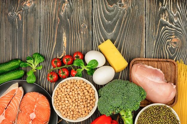 Flexitarian 다이어트 야채 및 육류