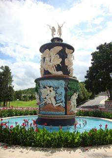 Статуя города flim рамоджи