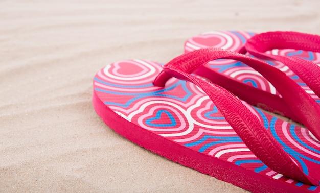 Flipflops на песчаный пляж