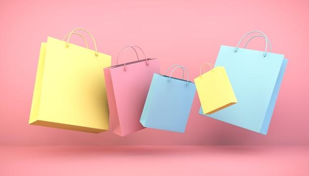 Плавающие сумки для покупок