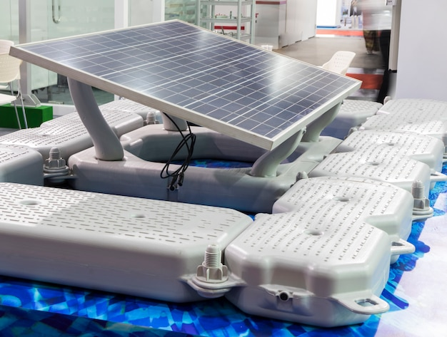 Floating solar cell  equipment