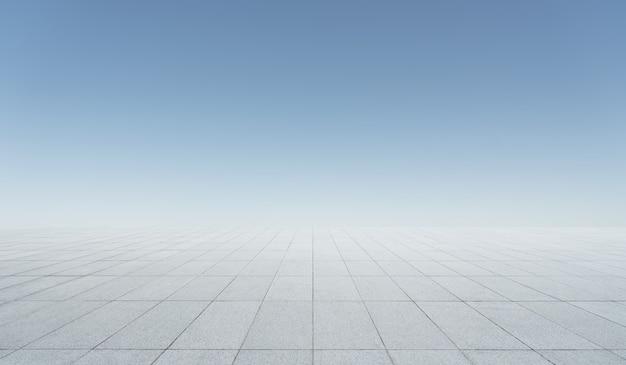 Floor and sky background