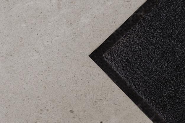 Floor with doormat