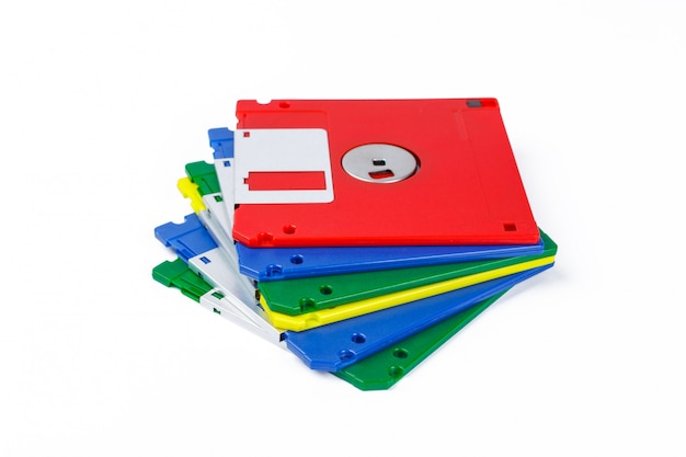 Floppy disk isolated