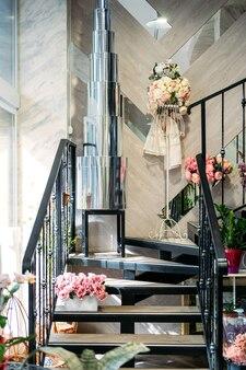 꽃무늬 꽃무늬 패션 꽃집 인테리어 꽃꽂이 꽃집 장식