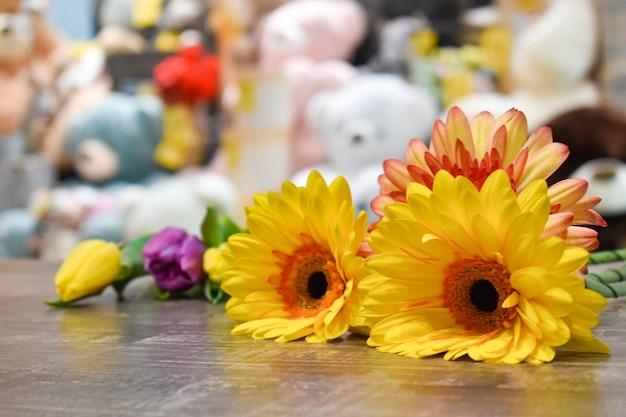 Floral shop flowers