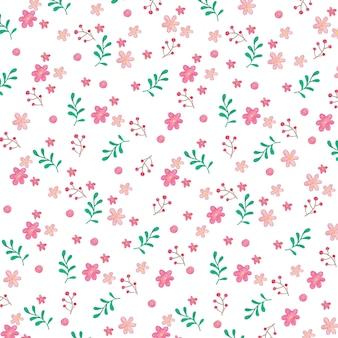 Изображение цветка и листа