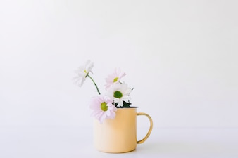 Flower and mug decoration