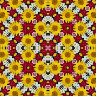Flower background for packing paper, covers, fabric